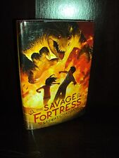 The Savage Fortress by Sarwat Chadda (2012 Hardcover) HCDJ First Edition 1st/1st