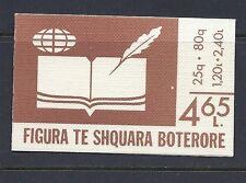 ALBANIA 1986 ENVER HOXHA set of 2 complete VF MH