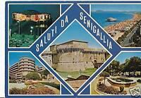 CARTOLINA SALUTI DA SENIGALLIA VIAGGIATA ANCONA F292