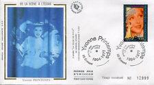 FRANCE FDC - 2897 1 YVONNE PRINTEMPS - 17 Septembre 1994 - LUXE sur soie