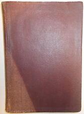 1922 DETERMINATIVE MINERALOGY MANUAL MINERAL ELEMENTS TABLE BLOWPIPE MIT WARREN