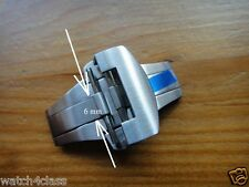 Brushed 316L s/ steel 22mm (FITS) Panerai Deployant Buckle CLASP Band Strap