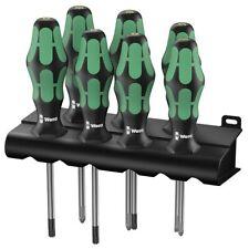 Wera 335/350/367/7 Schraubendrehersatz 05320540001 Kraftform Plus Lasertip Rack