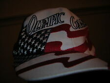 OLYMPIC GAMES  1996 BASEBALL CAP HAT ATLANTA UNUSED VINTAGE