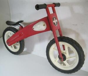 Eurotrike Euro Trike red balance bike red