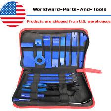 19x Car Trim Removal Tool Kit Set Door Panel Auto Dashboard Plastic Interior
