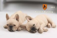 Mr.Z No.9 1/6 Real Animal Series Sleep Mode 001 French Bulldog Statue