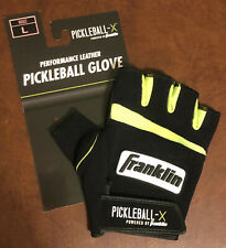 Franklin Sports Pickleball Leather Glove Right Hand Large Yellow Pickleball-X