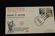 FMF LOCAL POST SPACE COVER 1974 HONORING FRANK DRAKE & PROJECT OZMA (7149)