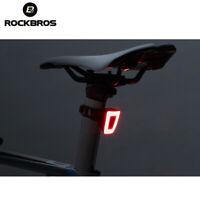 RockBros Cycling USB Charging Helmet taillight Riding Bicycle Light Night Warn