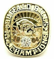 Mens Gold 1993 Year Buffalo Bill Championship Rings