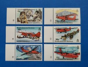 British Antarctic Territory Stamps, Scott 218-223 Complete Set MNH