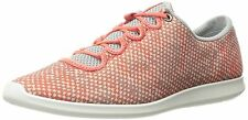 ECCO Womens Sense Sport Fashion Sneaker, Coral Bush/Concrete/Coral Bush Sz 9-9.5
