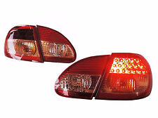 DHL Ship-For Toyota Corolla Altis 2003-2007 LED Tail Lights Rear Lamps Red/Clear