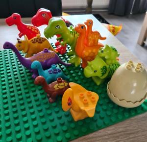 NEW Big Size Compatible DUPLO Dinosaur Zoo Animals Accessories Tyrannosaurus LOT