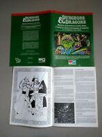 Il Palazzo della Principessa D'Argento B3 D&D Dungeons&Dragons EG