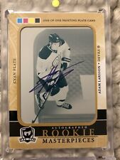 2011 - 2012 UD THE CUP Adam Larsson AUTO PRINTING (Print) PLATE  ROOKIE RC 1/1