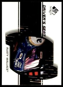 2000 SP Authentic Driver's Seat #DS8 Rusty Wallace *228
