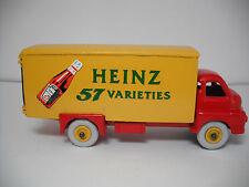DINKY SUPERTOYS MECCANO.#923G BIG BEDFORD HEINZ 57 KETCHUP VAN RESTORED/NEW BOX