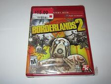 Borderlands 2 (Sony PS3, 2012) Greatest Hits Label NEW --