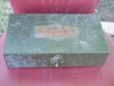 Antique CARTER CARBURETOR tool kit Original box repair auto lots of tools