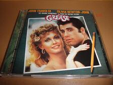 GREASE soundtrack CD (polydor GERMANY) OLIVIA NEWTON john TRAVOLTA