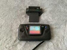 Sega Game Gear Konsole + Sonic the Hedgehog + TV Tuner