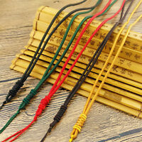 10pcs Hand Knited Necklace silk thread knot cord For Pendant-long cord