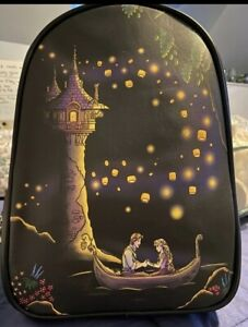 New With Tags Loungefly Disney Tangled Rapunzel Light Up Lanterns Backpack