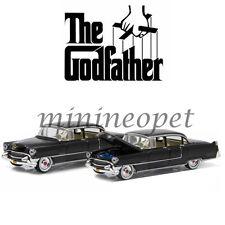 GREENLIGHT 44740 B THE GODFATHER 1955 CADILLAC FLEETWOOD SERIES 60 1/64 BLACK