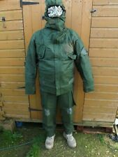 British Army Surplus  Mark 4 NBC Suits Olive Green / Size 180/100 Large