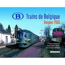 Nicolas Collection nc3f libro SNCB NMBS Trains de Belgique années 1960 NUOVO + OVP
