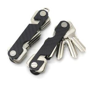 Schlüsselbund, Smart Key Organizer, Handystütze aus Carbon, Flaschenöffner