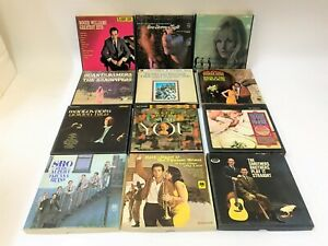 LOT OF 12 PRERECORDED REEL-TO-REEL MUSIC TAPES Herb Alpert Sandpipers More!