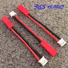 Stck - (3) E-flite Blade 130x (UMX) auf JST Lipo Adapter (2 Zoll) 20awg Kabel