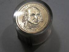 BU 2007-p James Madison Danbury Mint 12 Dollars Roll Sealed.  #54