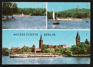 Schiffspost MS Heinrich Mann Weiße Flotte Berlin auf passender AK