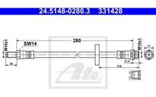 ATE Tubo flexible de frenos Para FORD MONDEO 24.5148-0280.3