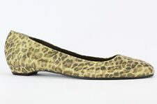 J. Renee Women's Devinii Animal Print Leather Flat Size 12M