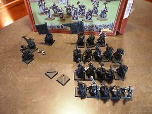 Warhammer Fantasy WHFB Empire Teutogen Guard & Command Mordheim Middenheim $20S