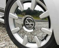 VW Beetle 2012-2017 Wheel Center Hub Cover Chrome Black Genuine