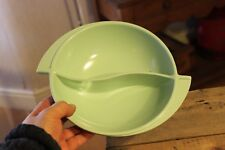 Vintage Melamine Melmac Boonton Brand U.S.A Large Serving Bowl Pale Green