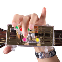 AU_ Guitar Beginner Learning Aid Chords Assistant Tool Practice Accessory Eager