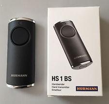 Hörmann Handsender HS1 BS - 868,3 MHz BiSecur Fernbedienung schwarz große Taste