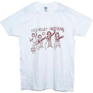 The Velvet Underground Garage Rock Punk Musique Affiche T Shirt Classic Fit Haut