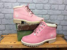 TIMBERLAND LADIES UK 5 EU 38 ROSE PINK NELLIE CHUKKA PREMIUM BOOTS RRP £120