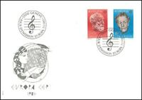 FDC Suisse - Europa CEPT 7.5.1985