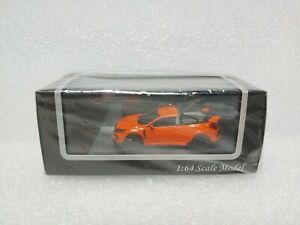 FK8 Pickup Truck Orange Scale Model 1/64