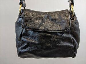 STONE MOUNTAIN Women's handbag, Black shoulder bag, faux leather purse HOBO