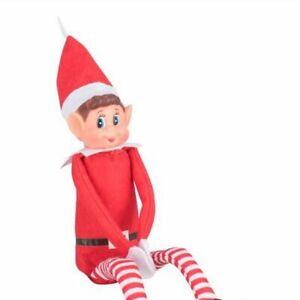 "Naughty Elf On The Shelf Christmas Elves Behavin' Badly 12"" Prop  Boy Xmas"